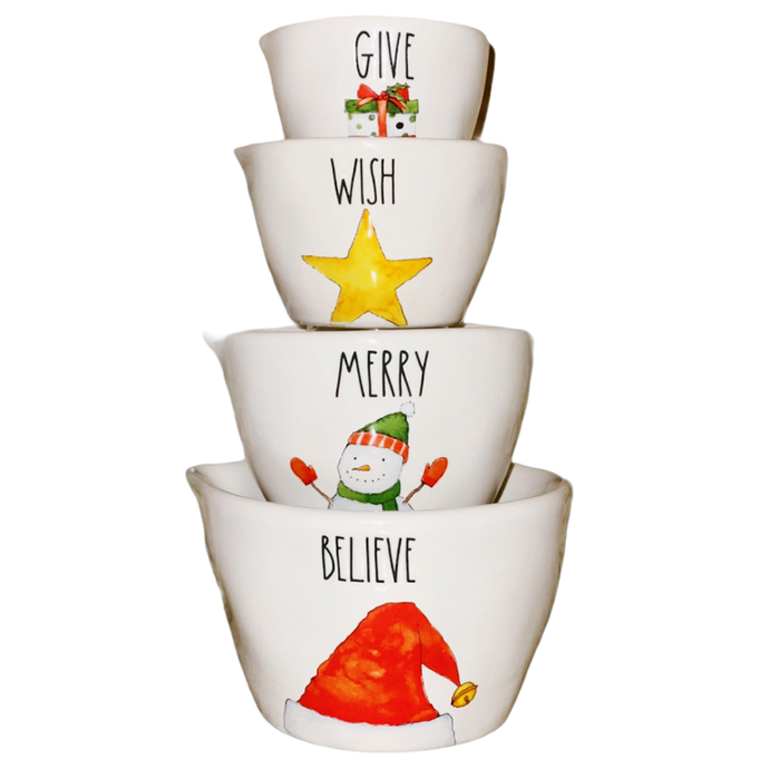 HOLIDAY Measuring Cups