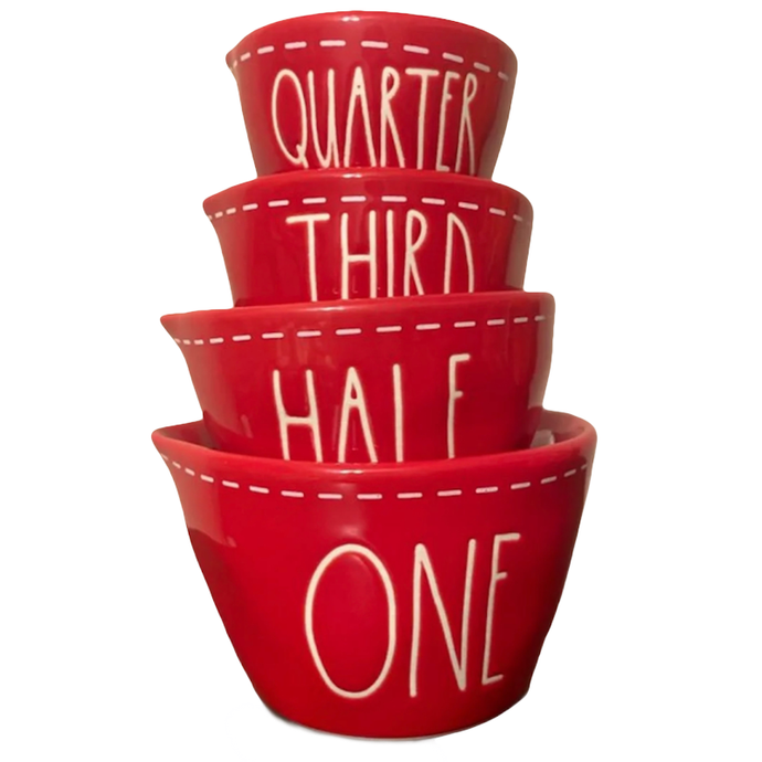 RED STITCH Measuring Cups