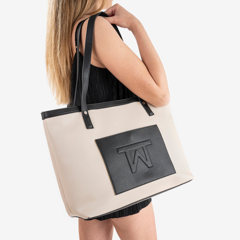 Black shopper bag, Working Collection