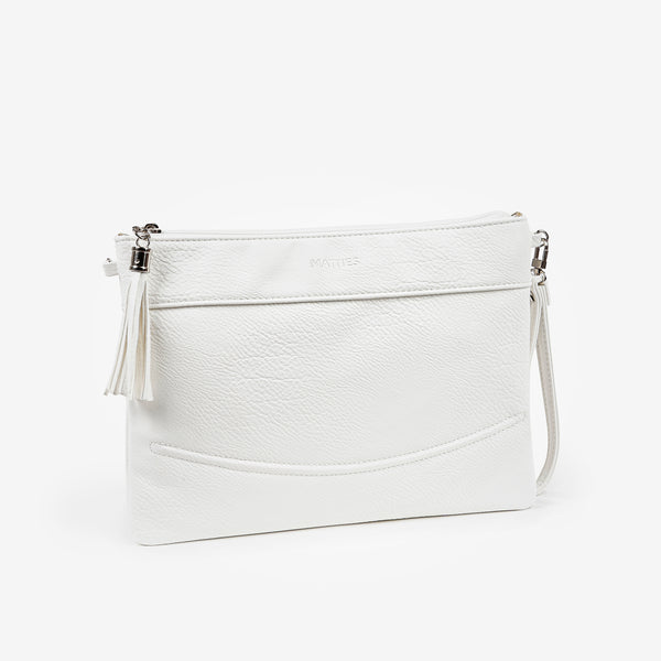 White handbag, Clutch bags Collection