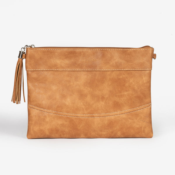 Tan handbag, Clutch bags Collection