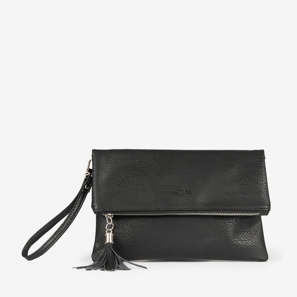 Black folded handbag, Clutch bags Collection