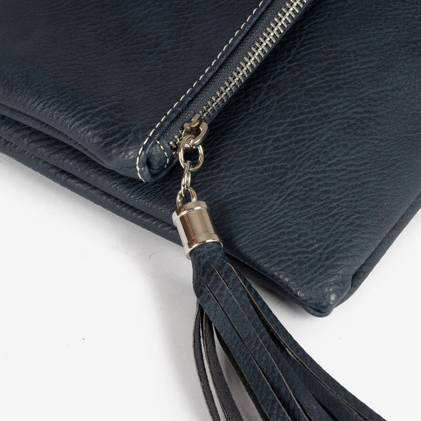 Blue folded handbag, Clutch bags Collection