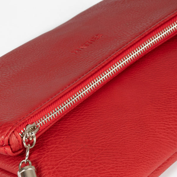 Red folded handbag, Clutch bags Collection