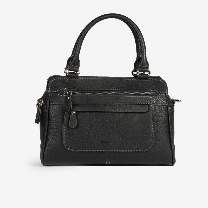 Black handbag and Cross body bag, Seriola
