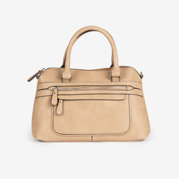 Camel handbag and Cross body bag, Seriola