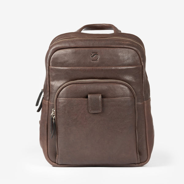 Brown leather Backpacks, Leather Wash Collection