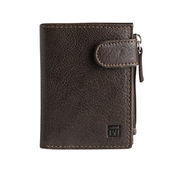 Brown wallet, Collection Wash leather wallets