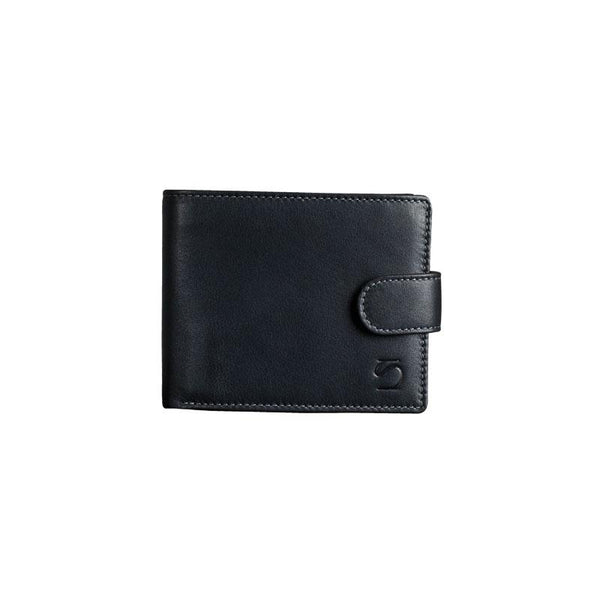 Black leather wallet, Exotic Leather Collection