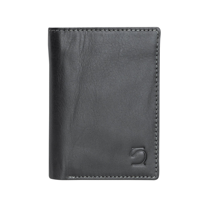 Black wallet, Collection Exotic Leather