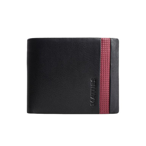 Black/burgundy leathre wallet, Kenzo Collection