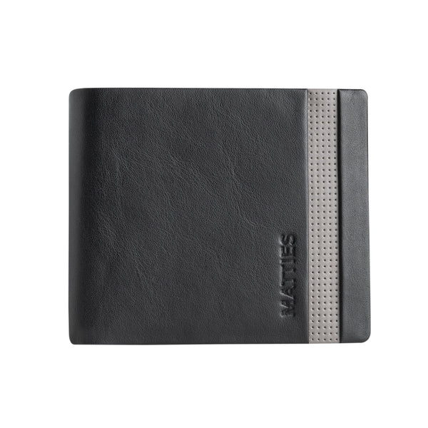 Black/gray wallet, Colección Kenzo Leather