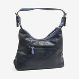Bolso Hobo color azul, Serie Waves