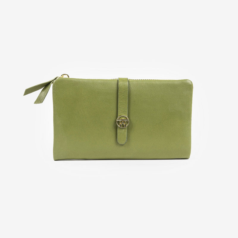 Billetero verde, Colección Valentino Leather
