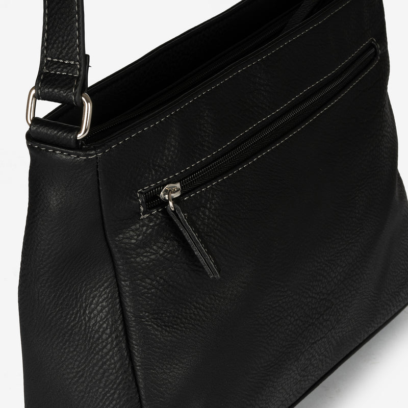 Black cross body bag, Classic Collection