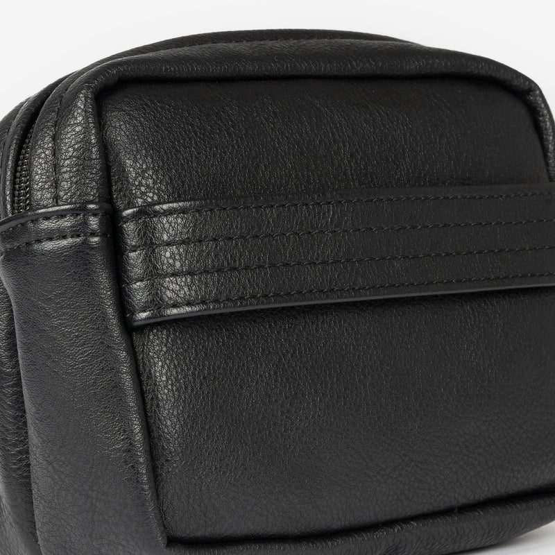Black Toiletry bag, Nappa Collection