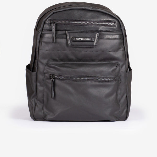 Black backpack, Canvas Design Collection