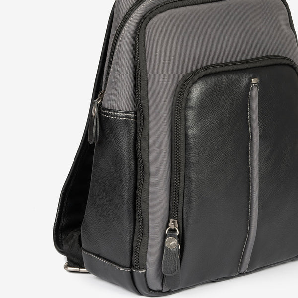 Backpack, Nylon Faux leather Collection