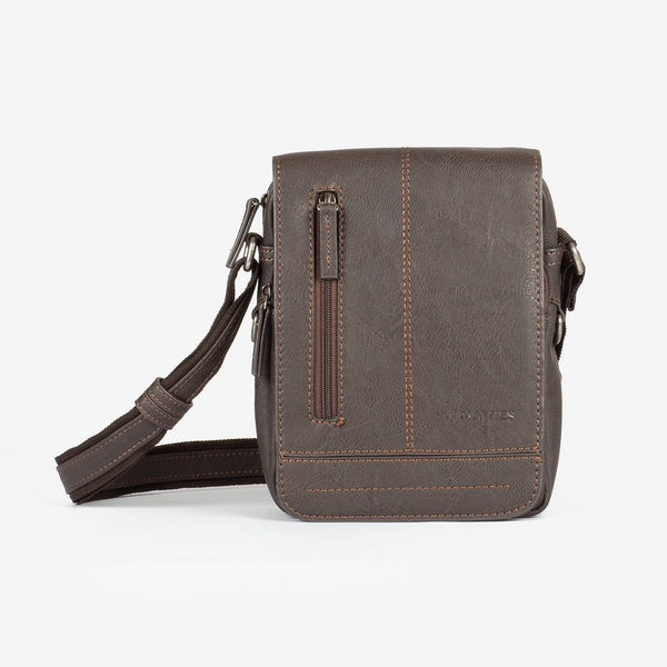 Dark brown cross body bag, Classic Sport Collection