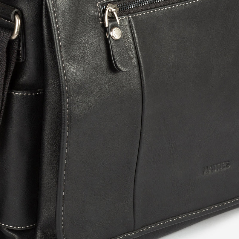 Big black cross body bag, Man bags Collection