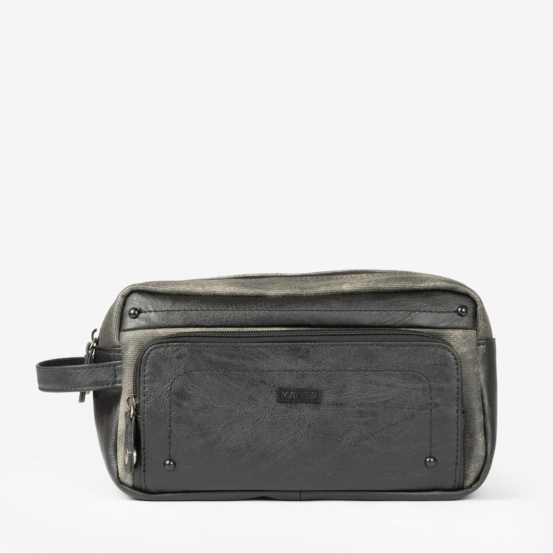 Black Toiletry bag, Man bag Collection