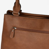 Tan shoulder bag, Seriola