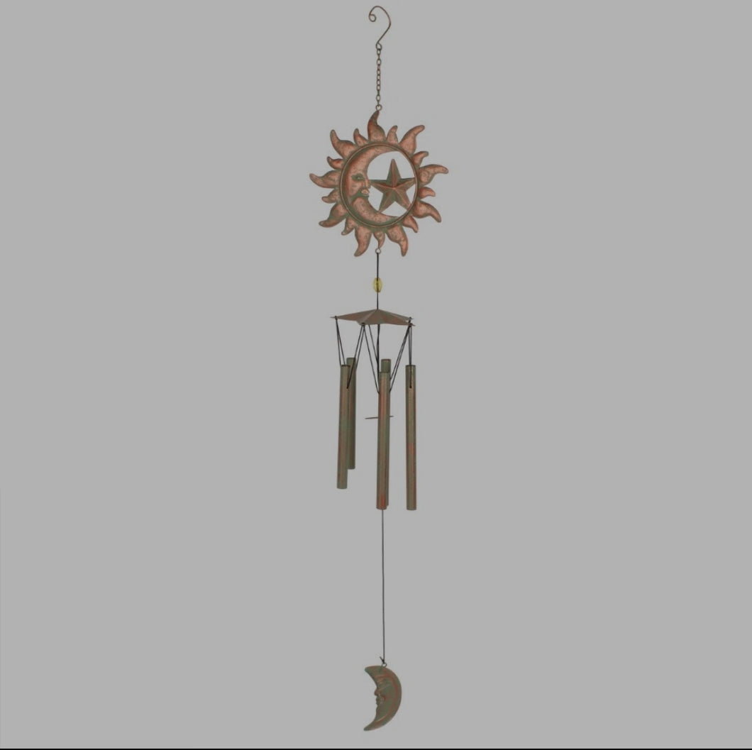 Sun, Moon & Star Windchime