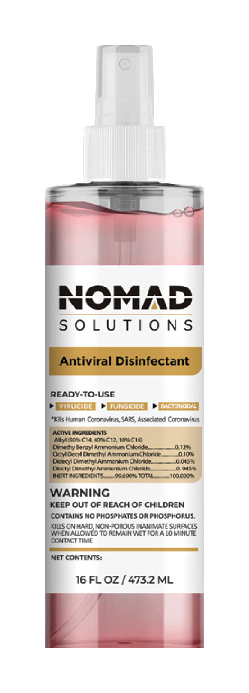 16 Oz Antiviral Disinfectant
