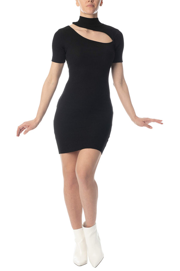Women's Juniors Mini Sweater Dress