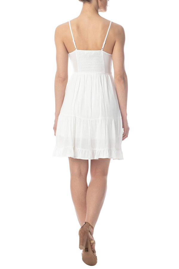Women's Juniors Flounce Skater Dress - Almost Famous Clothing