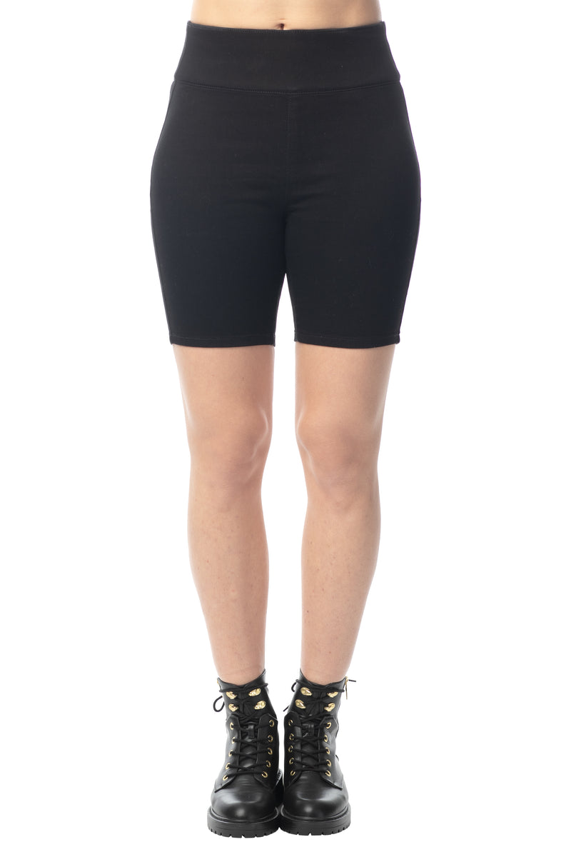 "BIKER ""ULTRA STRETCH"" SHORTS - Almost Famous Clothing"