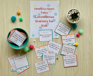 Heart-to-Heart: 68 Conversation Starters for Kids