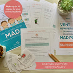 Load image into Gallery viewer, Licensed Copy for Professionals - What to Do When You Are Mad: A Self-Regulation Workbook for Kids and Their Parents