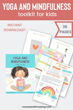 Load image into Gallery viewer, Yoga and Mindfulness Toolkit for Kids