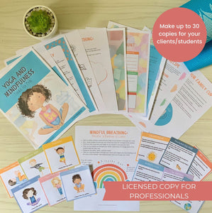Licensed Copy for Professionals - Yoga and Mindfulness Toolkit for Kids