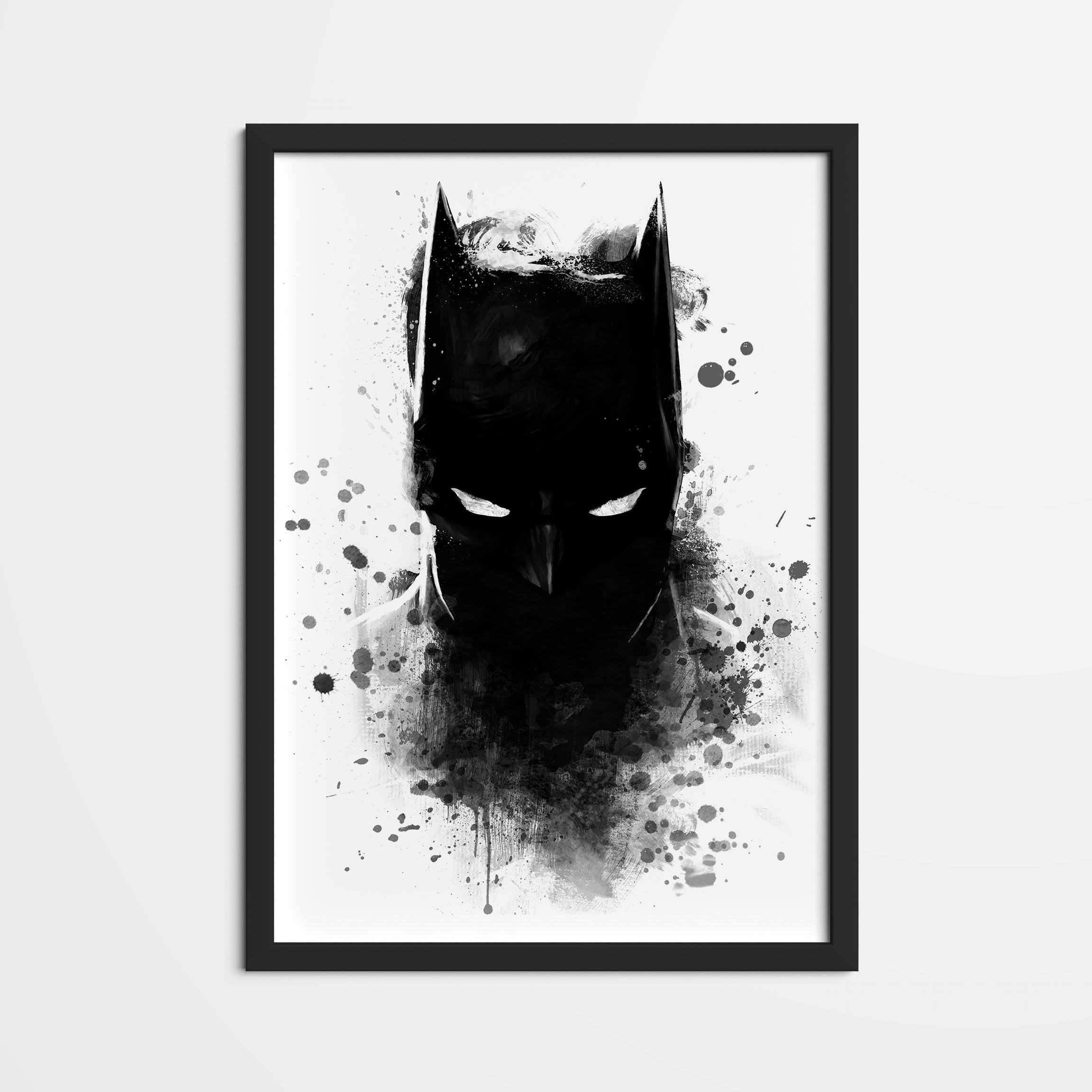 Batman Shadow Framed Poster