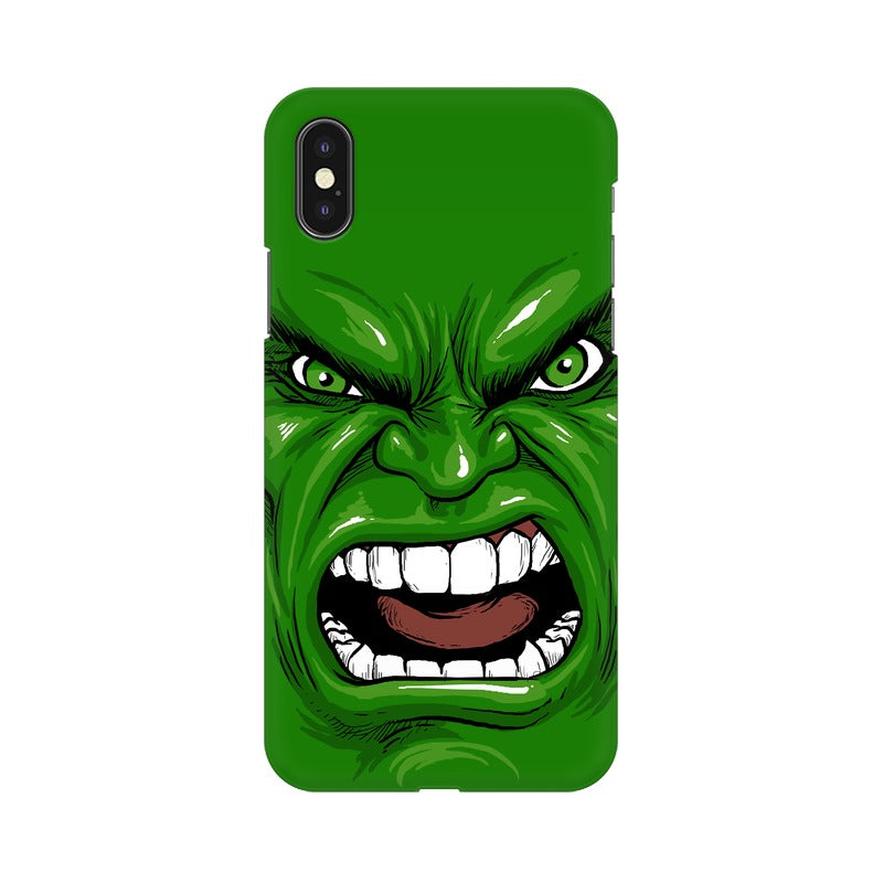 Fierce Face iPhone X Sublimation Hard Case