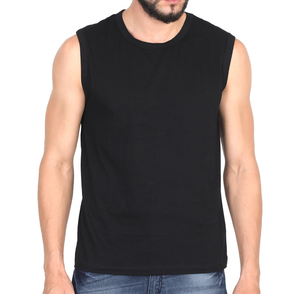 Black Gym Vest For Men