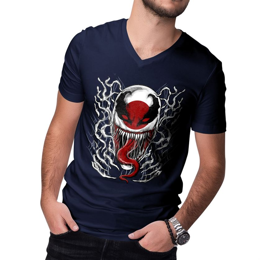 Venom Verse Men's V-neck T-shirt