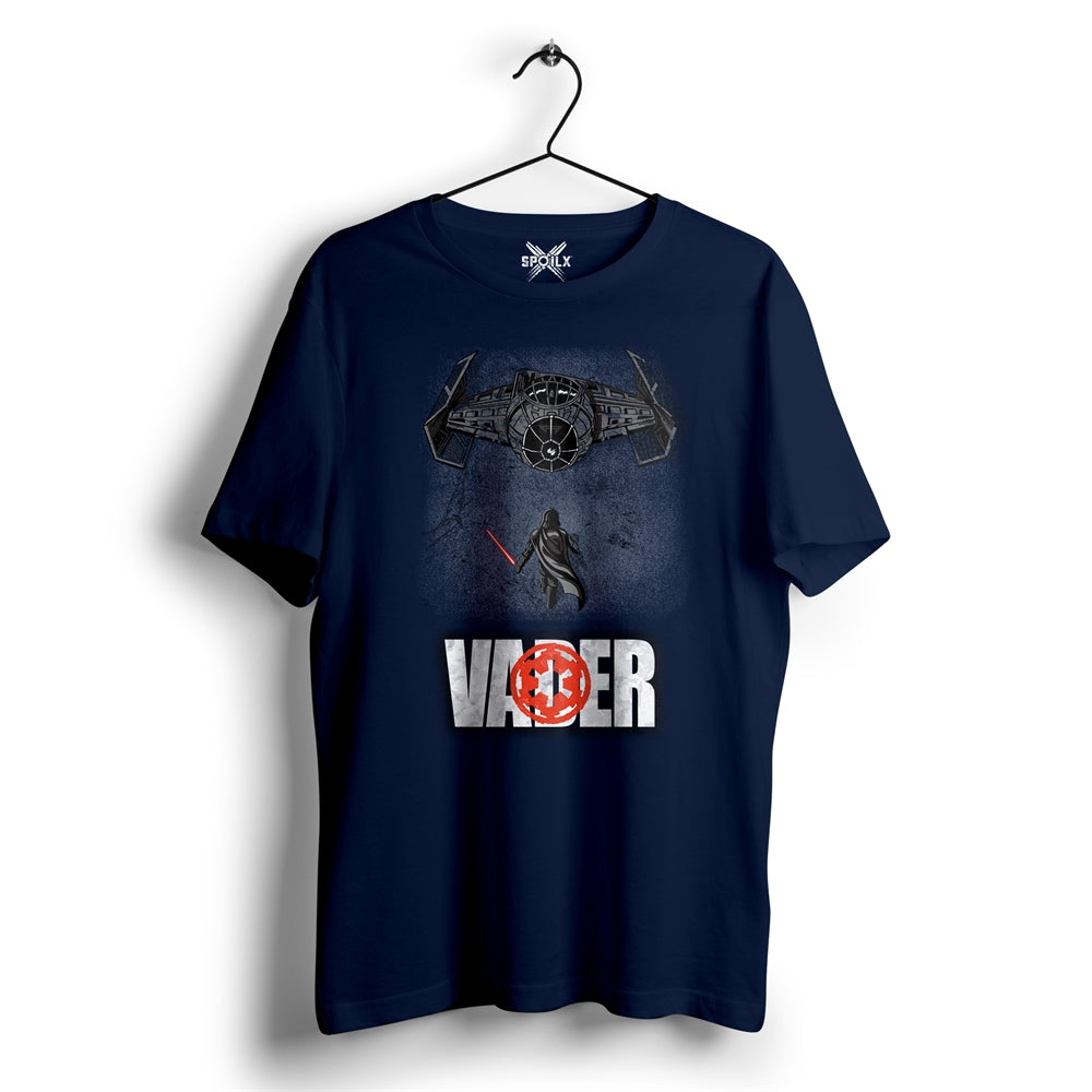 Dark side of the Force-2 Navy blue T-shirt For Men