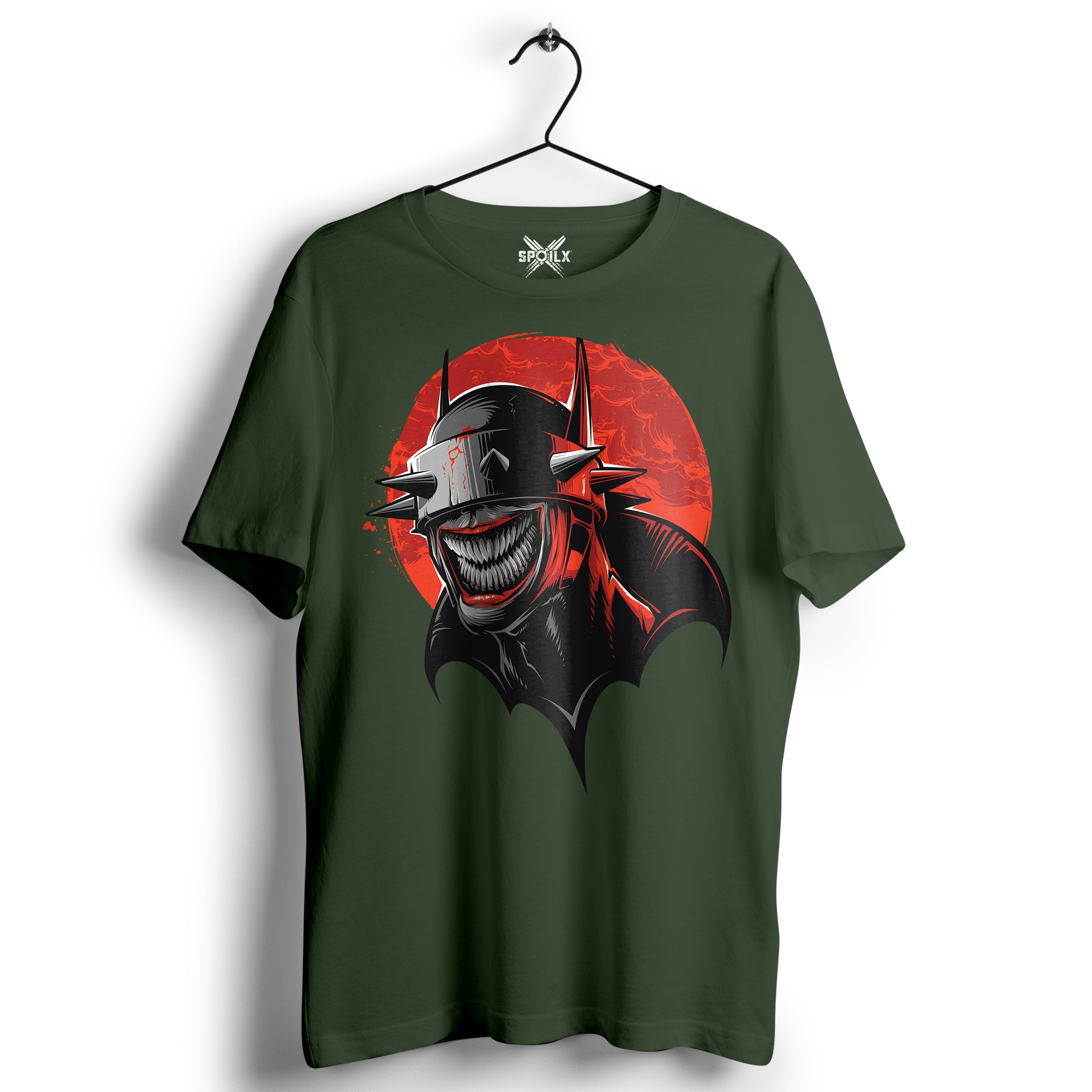 Batman Olive green T-shirt