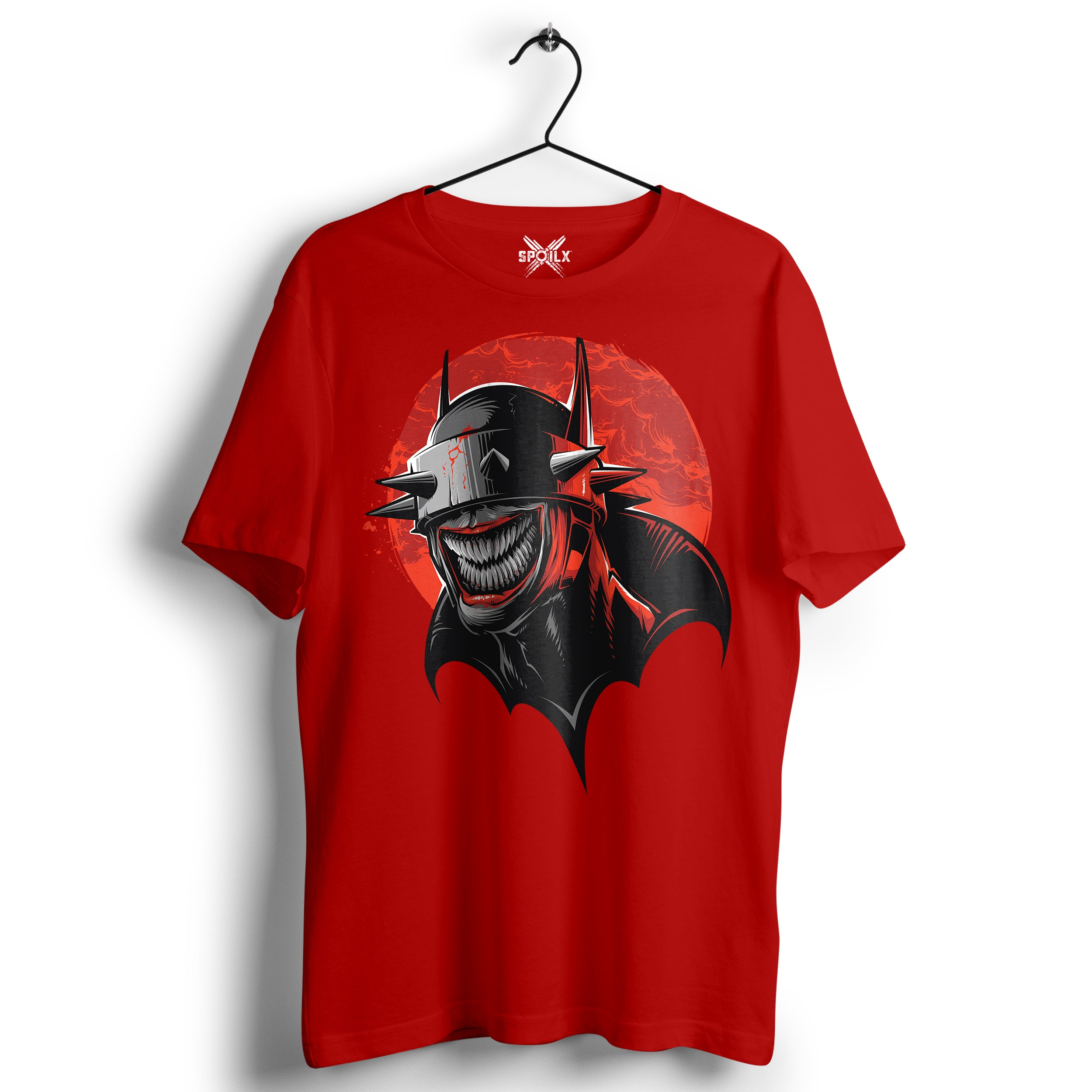 Red Color Batman T-shirt