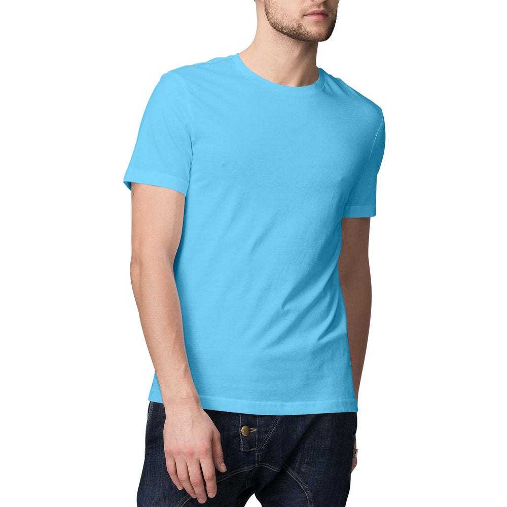 Sky Blue T-shirt For Men