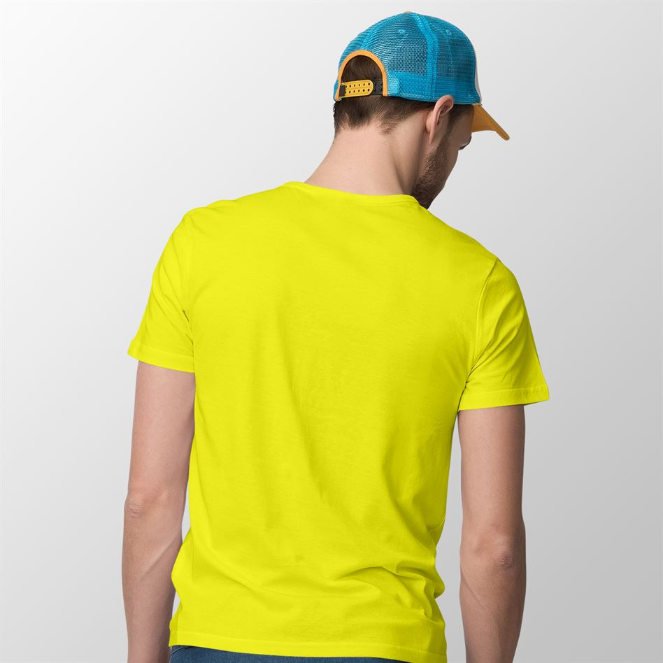Neon Yellow T-shirt For Men