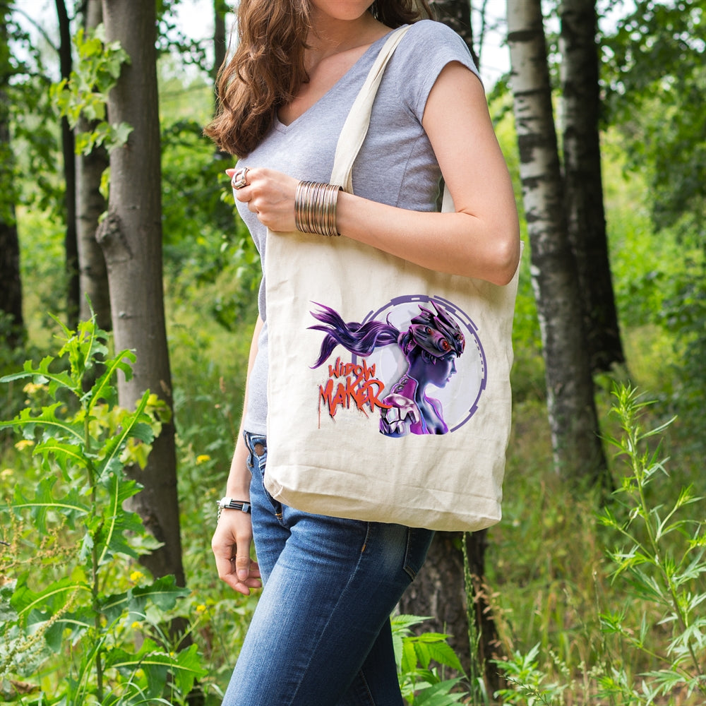 Widow Maker Canvas Tote Bag for Women