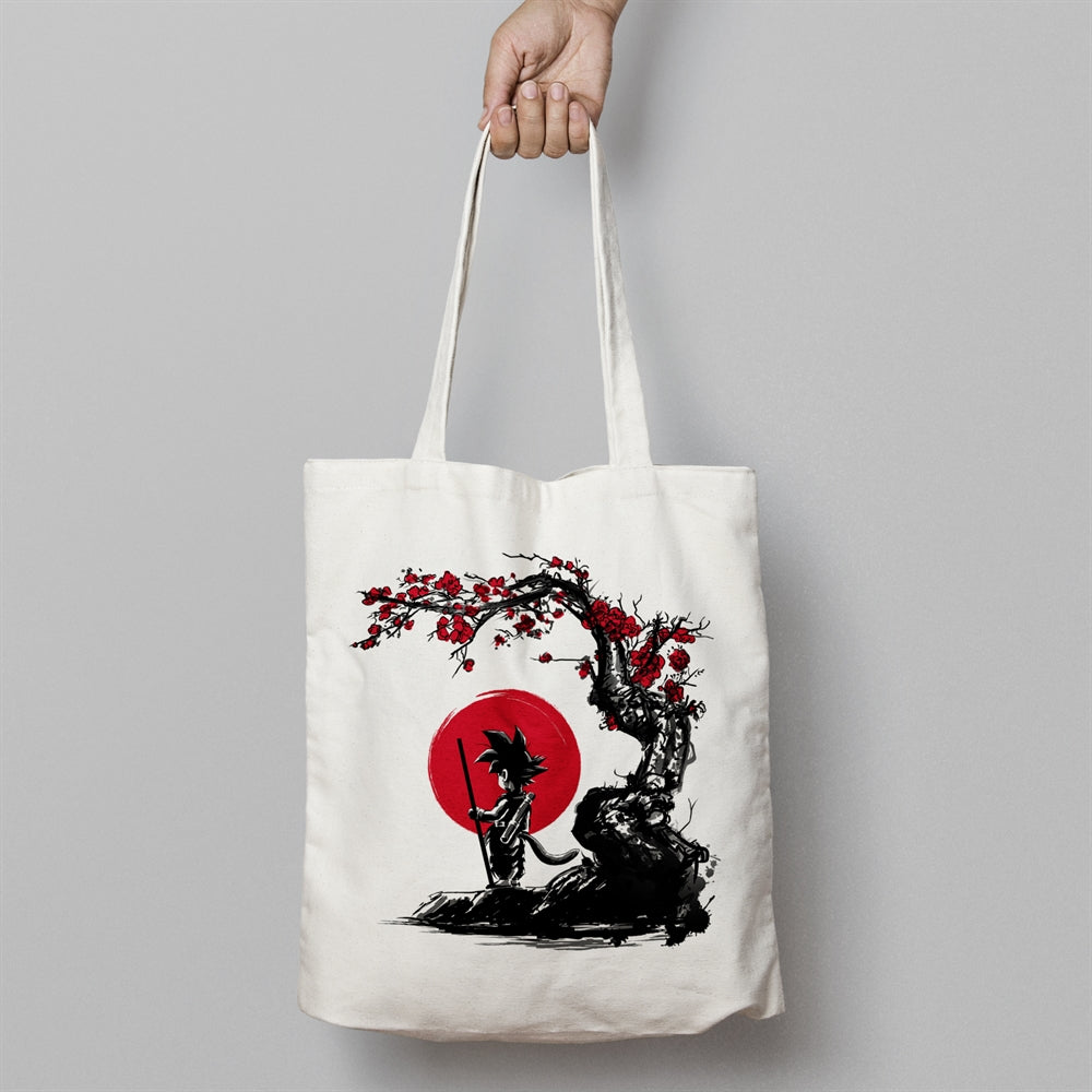 Saiyan Under The Sun Canvas Tote Bag