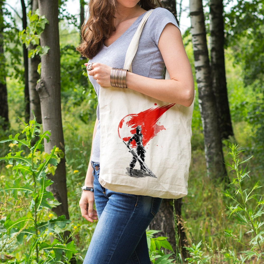 Final Soldier Canvas Tote Bag for Women