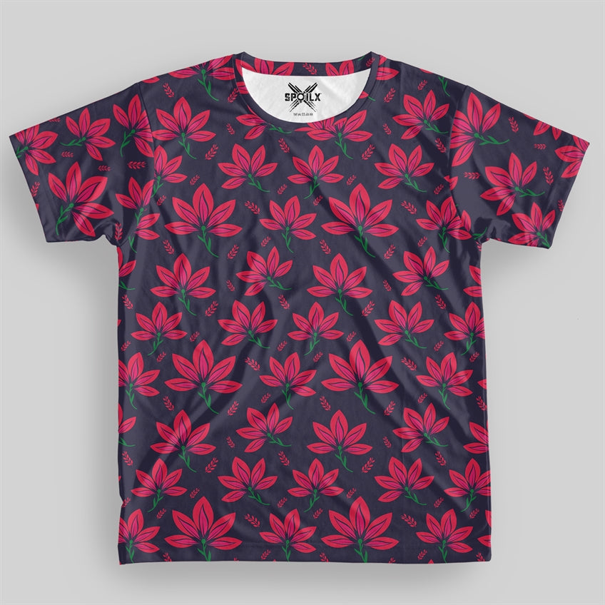 Floral Fantasy Women All over Print T-shirt