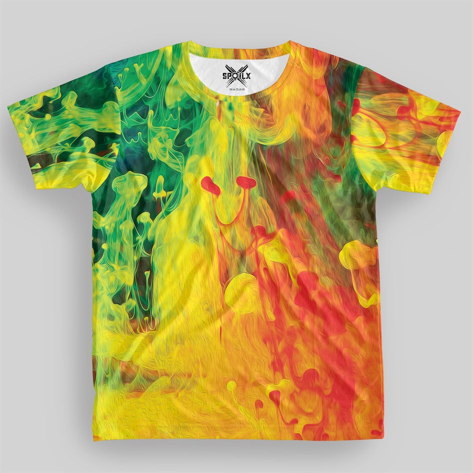 Colorful Explosion Unisex All over Print T-shirt