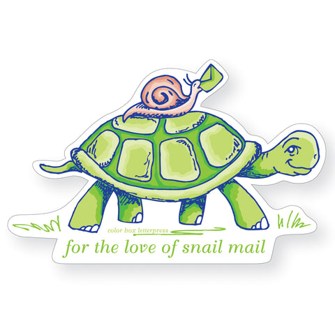 Sticker | Turtle Snail